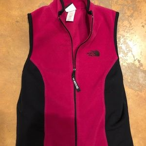 North Face Fleece Vest with Back Pocket